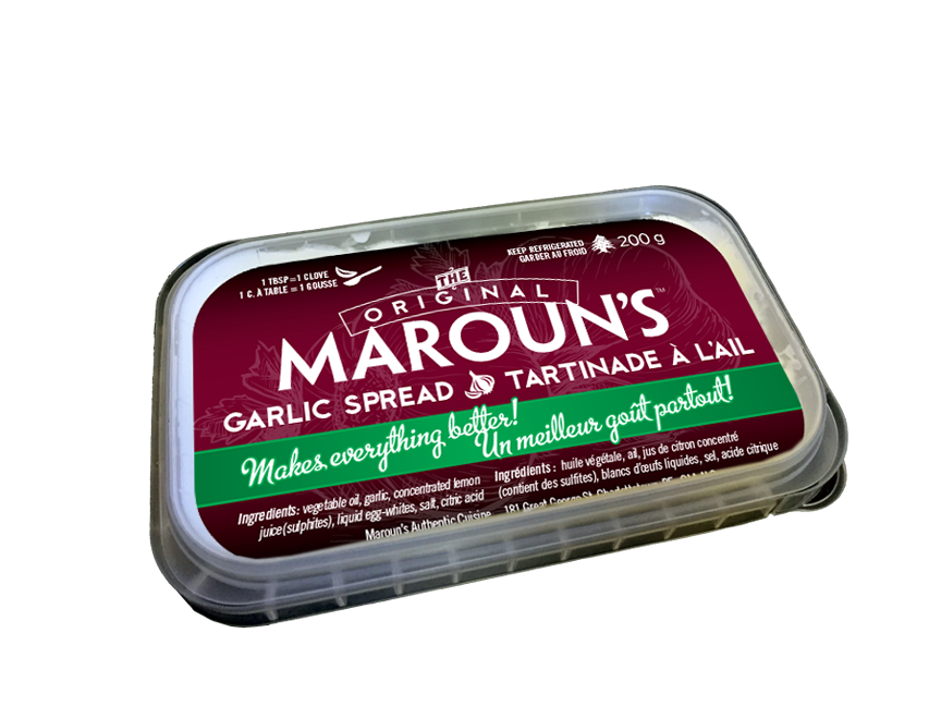 Maroun's Garlic Spread