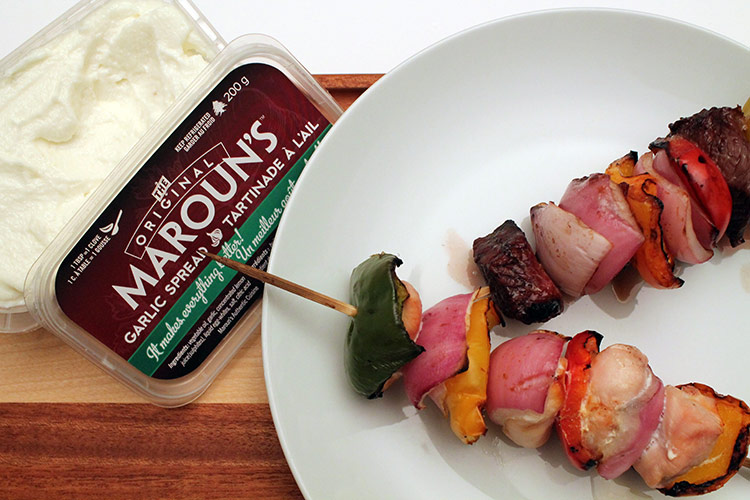 Kebabs with Original Maroun's